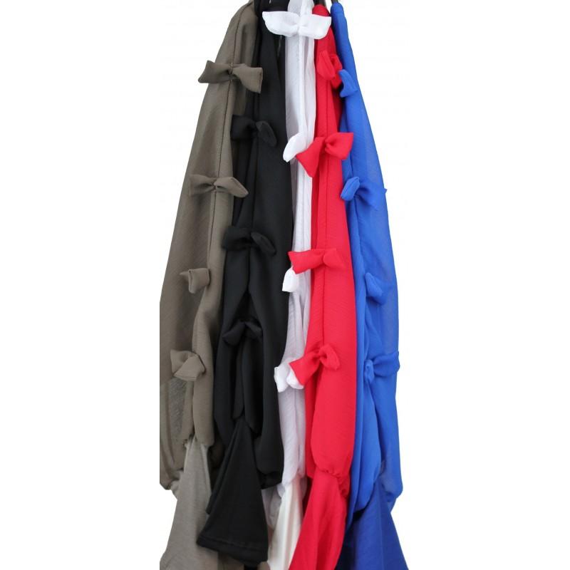 blouse en voile noeuds f3206 grossiste vetement femme