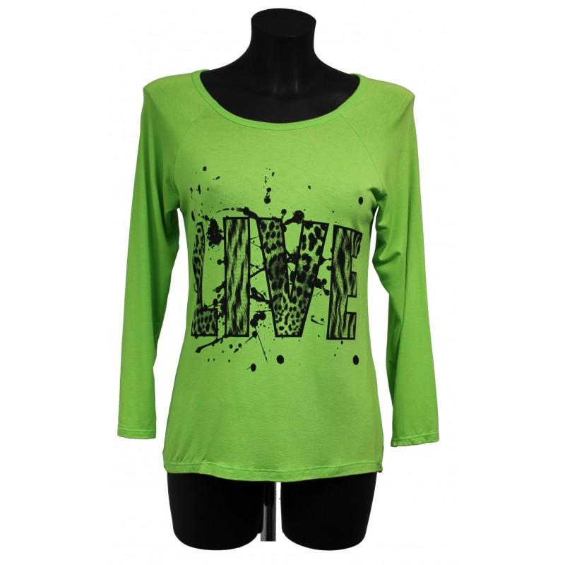 T shirt imprime fashion a8219v grossiste pret a porter for Cos pret a porter en ligne