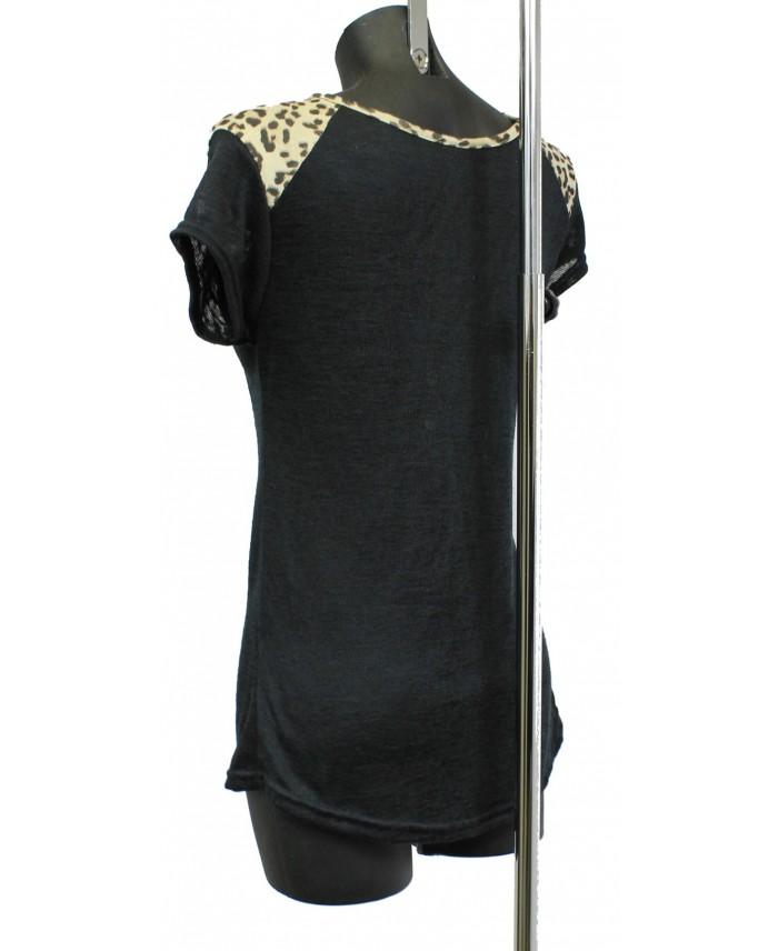T shirt imprime fashion a8229n grossiste pret a porter for Cos pret a porter en ligne