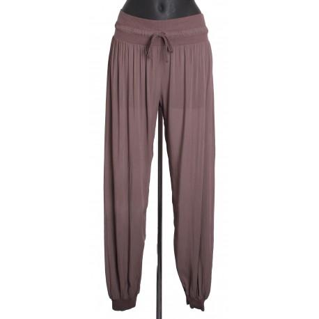 Pantalon fluide avec lien a8263ch grossiste pret a porter - Pret a porter femme pas cher en ligne ...