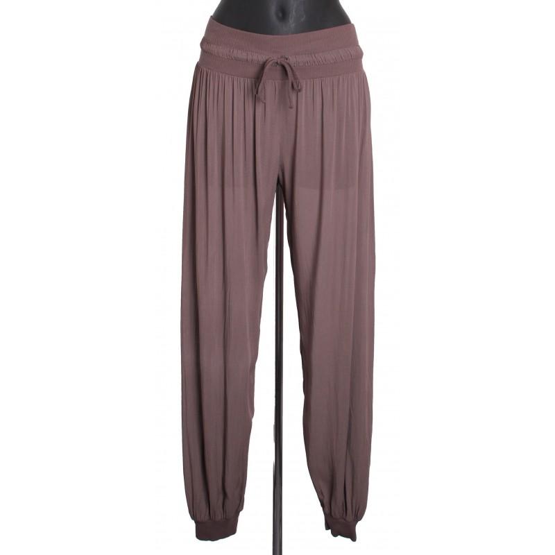 pantalon fluide avec lien a8263ch grossiste pret a porter en ligne