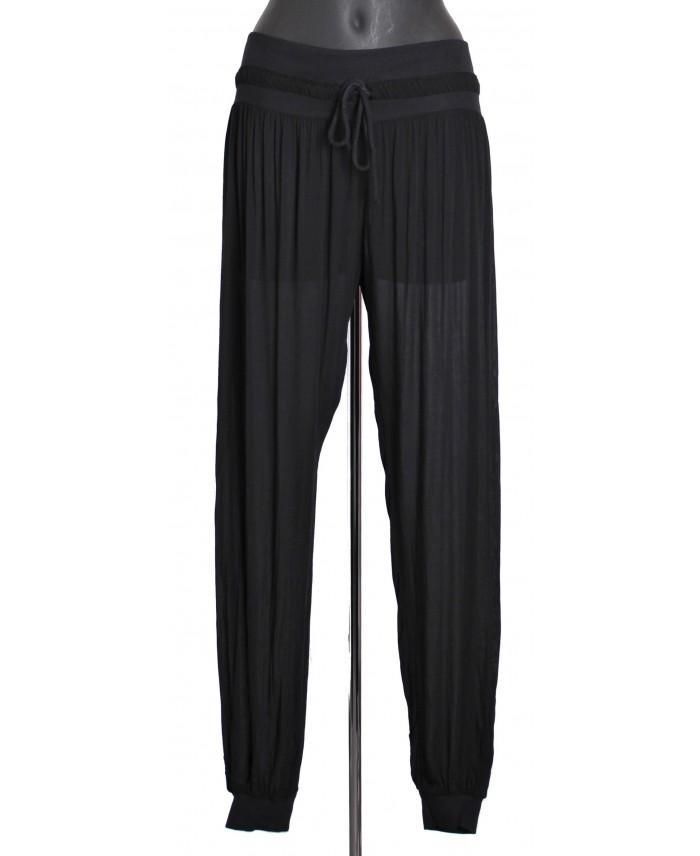 Pantalon fluide avec lien a8263n grossiste pret a porter - Pret a porter femme pas cher en ligne ...