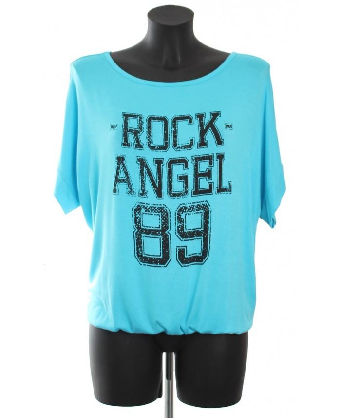 t shirt rock angel 89 a8265ba grossiste pret a porter. Black Bedroom Furniture Sets. Home Design Ideas