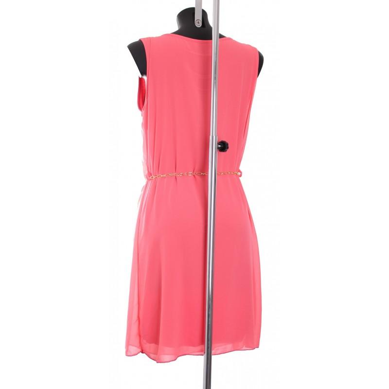 grossiste en ligne robe fluide avec ceinture chic a8344. Black Bedroom Furniture Sets. Home Design Ideas