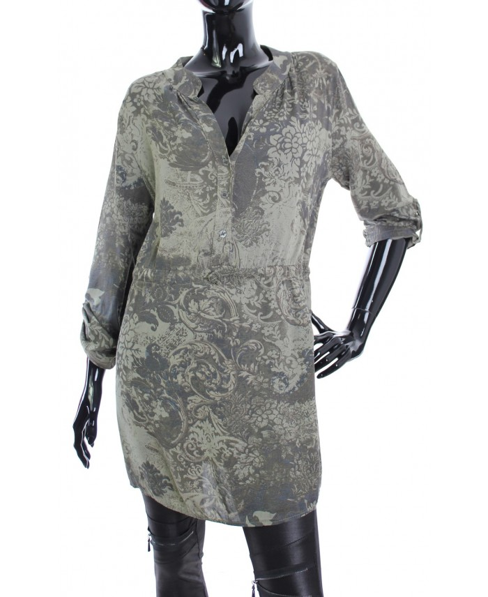 Robe tunique imprimee 1769 grossiste pret a - Grossiste en ligne pret a porter ...