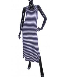 robe longue rayee marine 2011 grossiste pret a. Black Bedroom Furniture Sets. Home Design Ideas