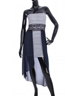 robe rayee bi matiere marine 2063 grossiste pret a. Black Bedroom Furniture Sets. Home Design Ideas