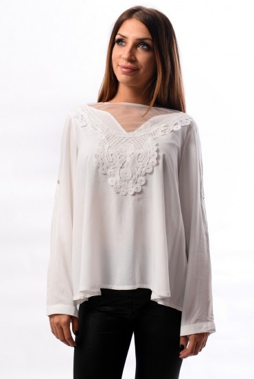 BLOUSE - WHITE 1029