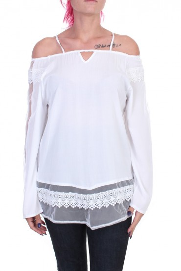 BLOUSE LACE WHITE 1016 x 2