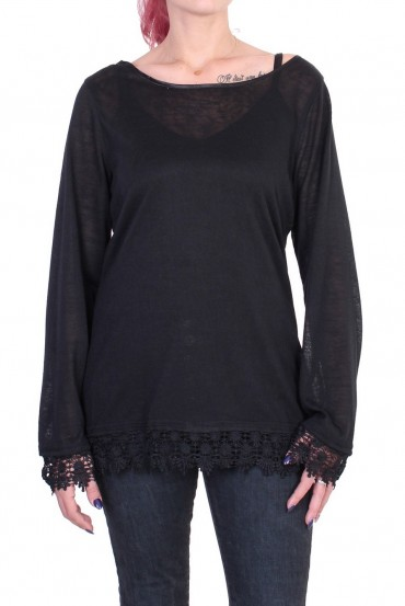 PULL LACE BLACK S01