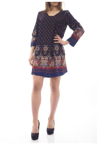 PRINTED DRESS / TUNIC 1090I3NO