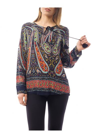 PRINTED TUNIC 1084I8NO
