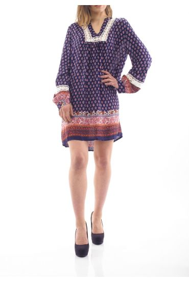 PRINTED DRESS / TUNIC 1089I4BM