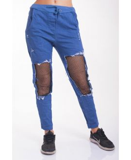 JEANS PANTS DESTROY 4023 BLUE