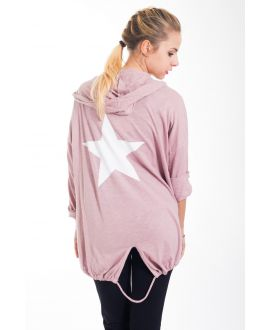 BACK VEST STAR 4421 ROSE