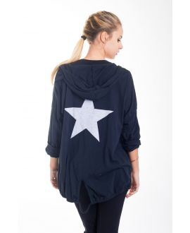 BACK VEST STAR 4421 BLACK