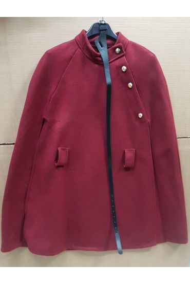 JACKET / CAPE 5035 BORDEAUX