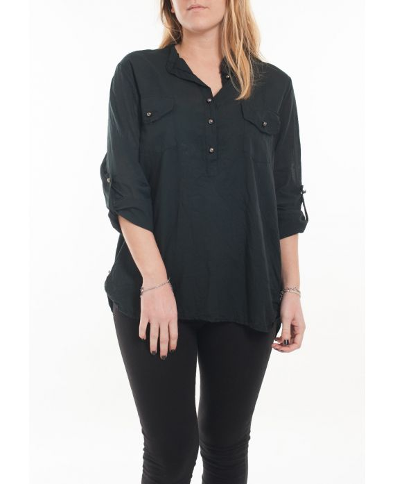 BIG SIZE BLOUSE 5067 BLACK