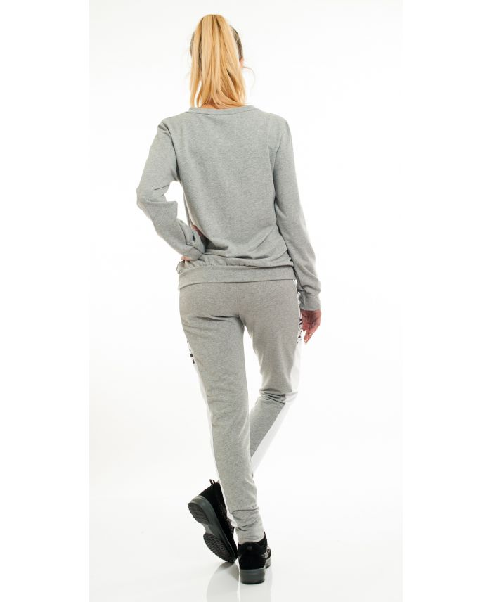 ENSEMBLE SWEAT + PANTALON VOGUE 6007 GRIS - grossiste-pret-a-porter.com ced96b2964d