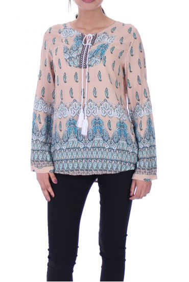 PRINTED TUNIC 1084I7BE