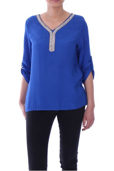 TOP RHINESTONE 1081 ROYAL BLUE