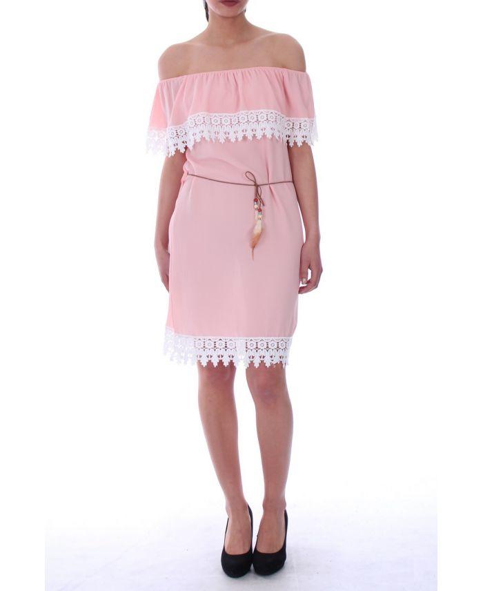 Faszinierend Kleid Rosa Spitze Knielang Bilder - Bilder ...