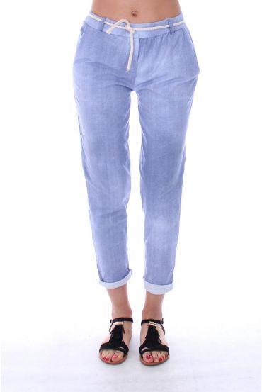 PANTS 9197 BLUE