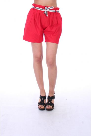 SHORTS 0050 RED