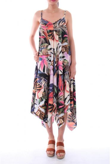 ROBE IMPRIME TROPICAL 0120