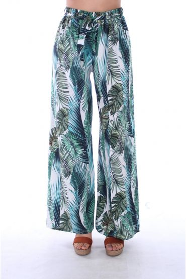 PANTALON IMPRIME TROPICAL 0123