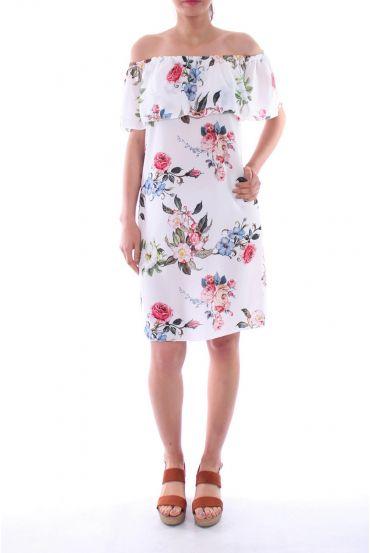 DRESS SHOULDERS DENUDEES 0127 WHITE