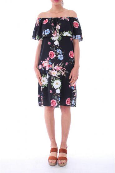 DRESS SHOULDERS DENUDEES 0127 BLACK