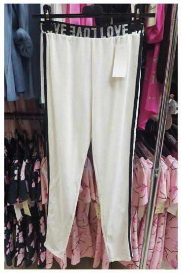 PANTS LEGGINGS LOVE 7050 WHITE