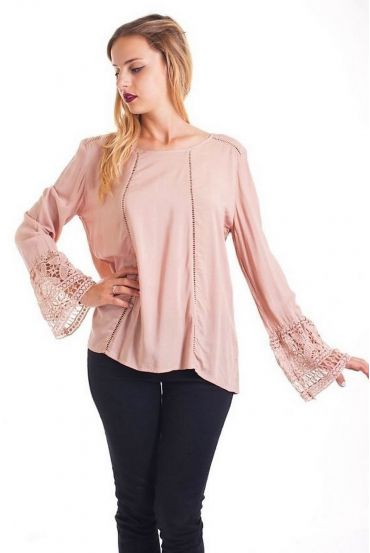 TUNIC LACE 1085 TAUPE