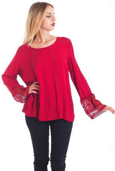 TUNIC LACE 1085 RED