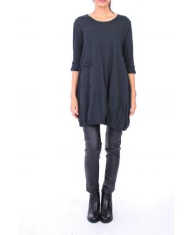 TUNIC POCKET 0137 BLACK