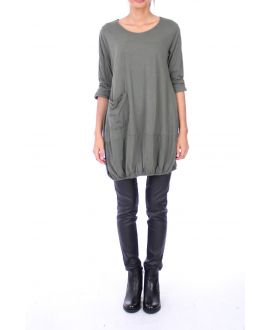 TUNIC POCKET 0137 GREEN