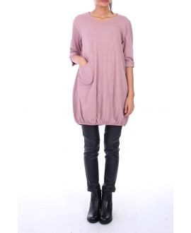 TUNIC POCKET 0137 PINK
