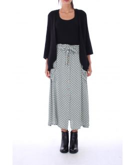 LONG SKIRT PEAS 0130 GREEN