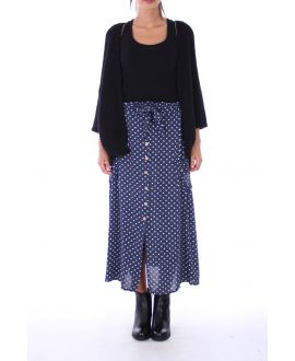 LONG SKIRT PEAS 0130 NAVY