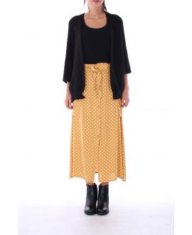 LONG SKIRT PEAS 0130 MUSTARD