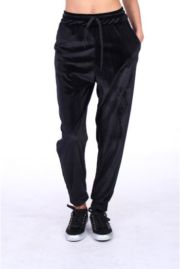 PANTS VELOUR 5022 BLACK