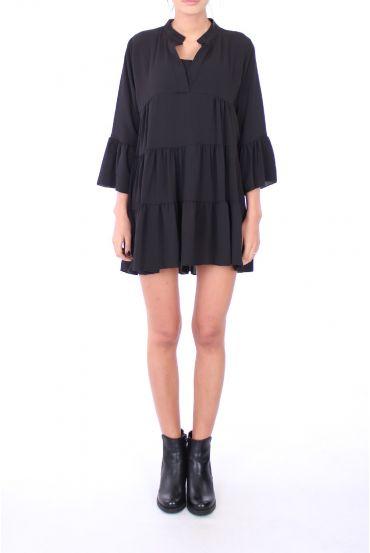 TUNIC DRESS 0286 BLACK