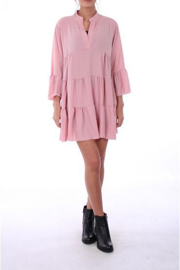 TUNIC DRESS 0286 PINK