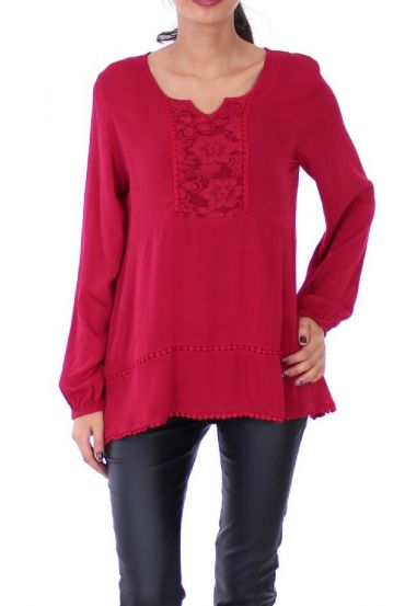 TUNIEK KANT BORDEAUX 1044
