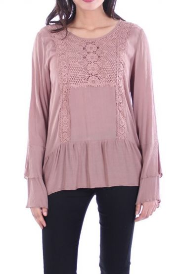 TUNIC LACE 1057 TAUPE