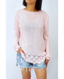 SWEATER KNIT 0509 PINK