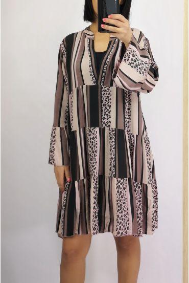 DRESS 0233 PINK