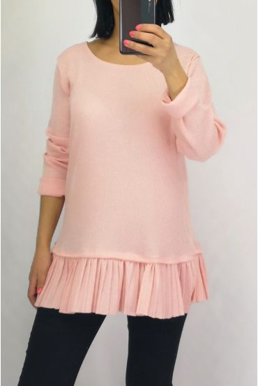 PULL BASE PLEATS 0506 PINK