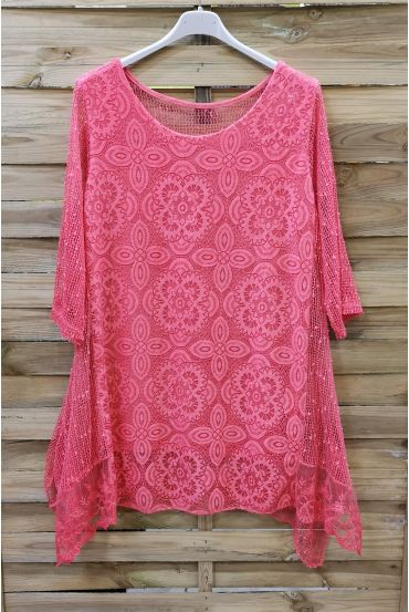 LARGE SIZE TUNIC MIX CONTENTS 0571 CORAL